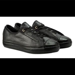 Converse LEATHER Black shoes for women